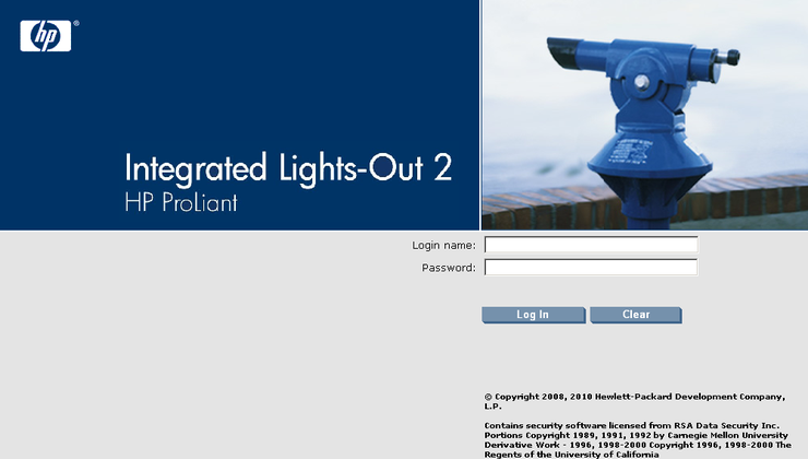 Integrated Lights-Out 2 HP ProLiant